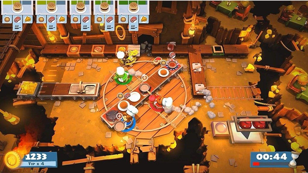 overcooked 2 kitchen chaos best games of 2018 coop