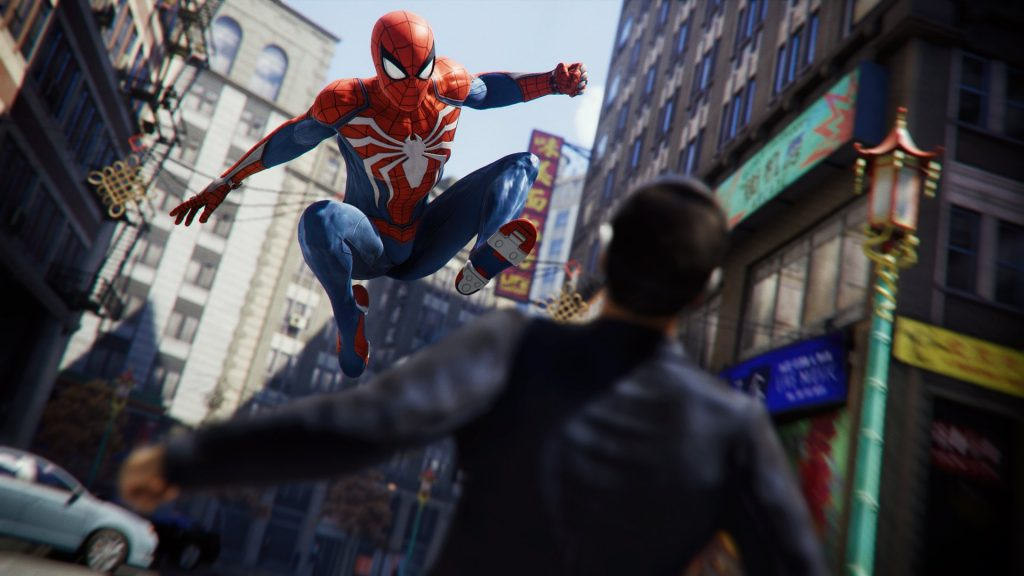 spiderman ps4 best games of 2018