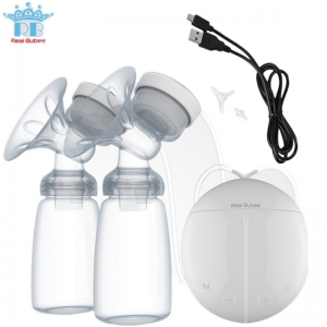 Real Bubee Breast Pump with Milk Bottles