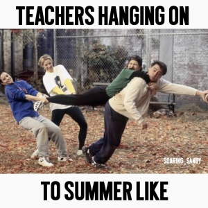 hanging onto summer