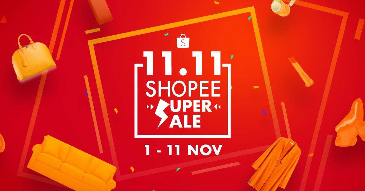 11.11 Shopee Super Sale