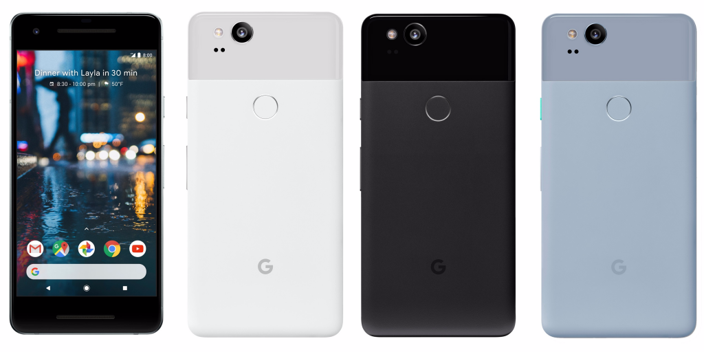 Google Pixel 2 XL Colours