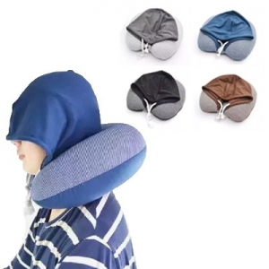 gifts for her singapore Travel pillow with hoodie