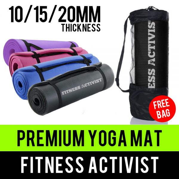 gifts for her singapore extra thick yoga mat comfort foam