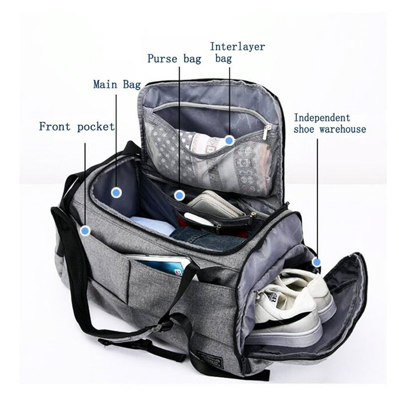 Multifunction High Capacity Bag