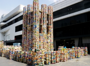 Largest Sculpture Built From Recycled Materials