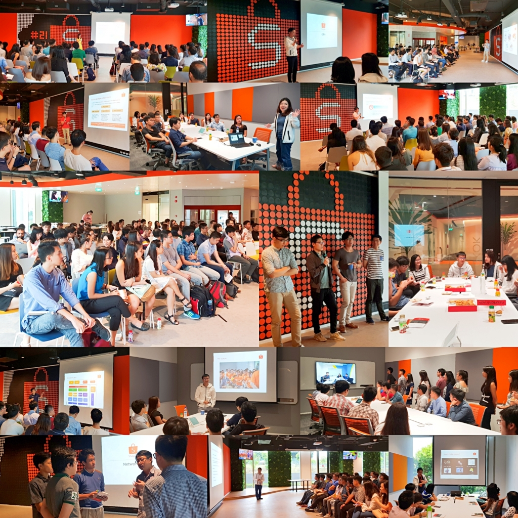 Series of Office Visits in Shopee