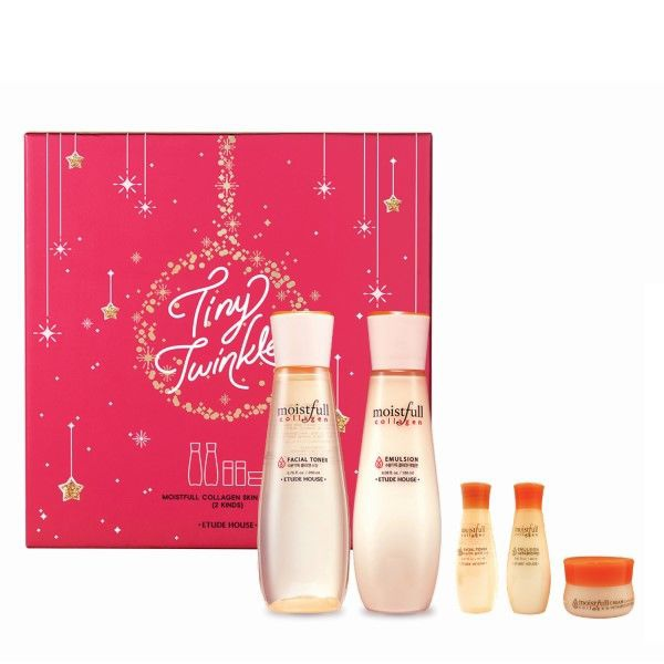 Etude House Tiny Twinkle Moistful Collagen Skin Care Set