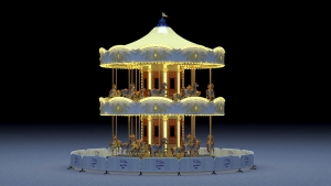 Artist impression of the 2-storey Carousel