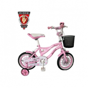 kids bicycle in pink