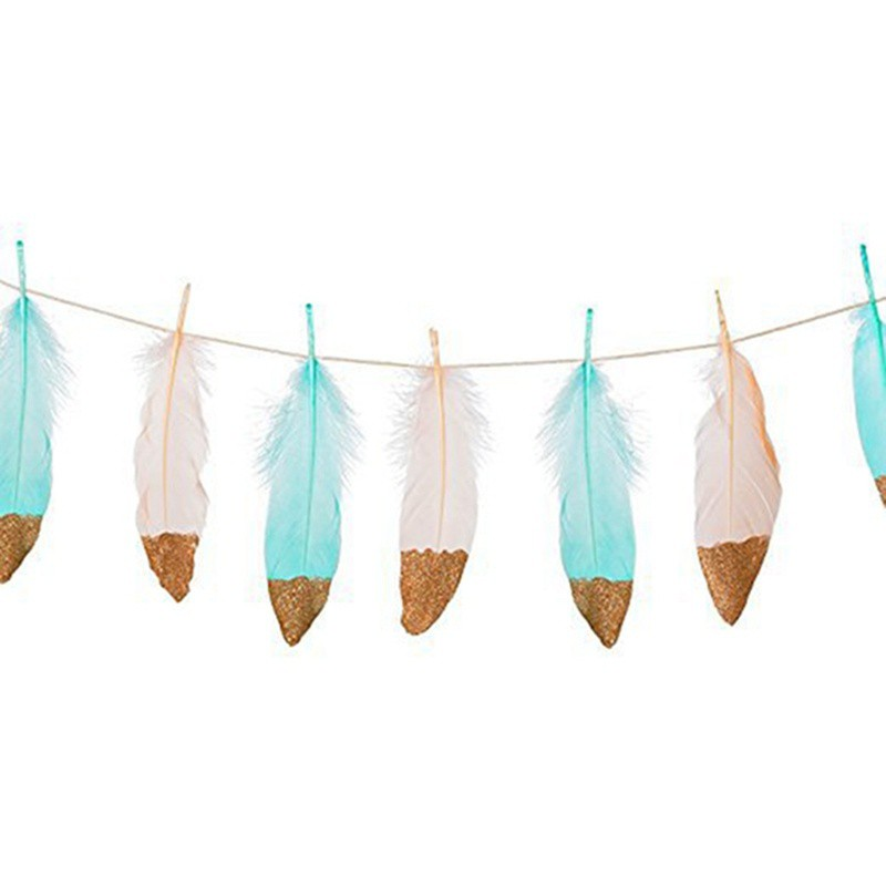 Feather garlands