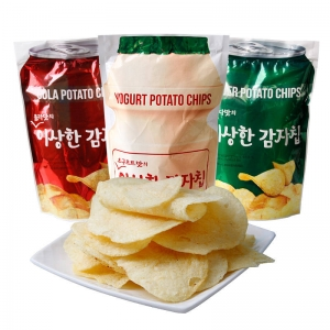 Cola Yogurt and Cider Chips
