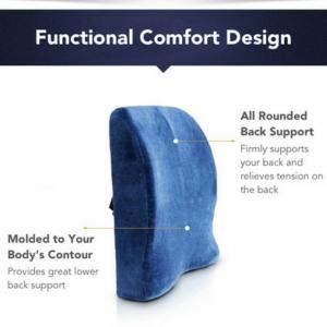 Memory Foam Backrest