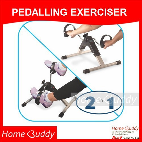 home buddy pedalling exerciser