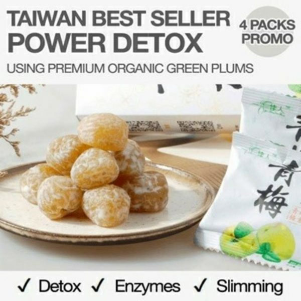 taiwan detox green plum slimming