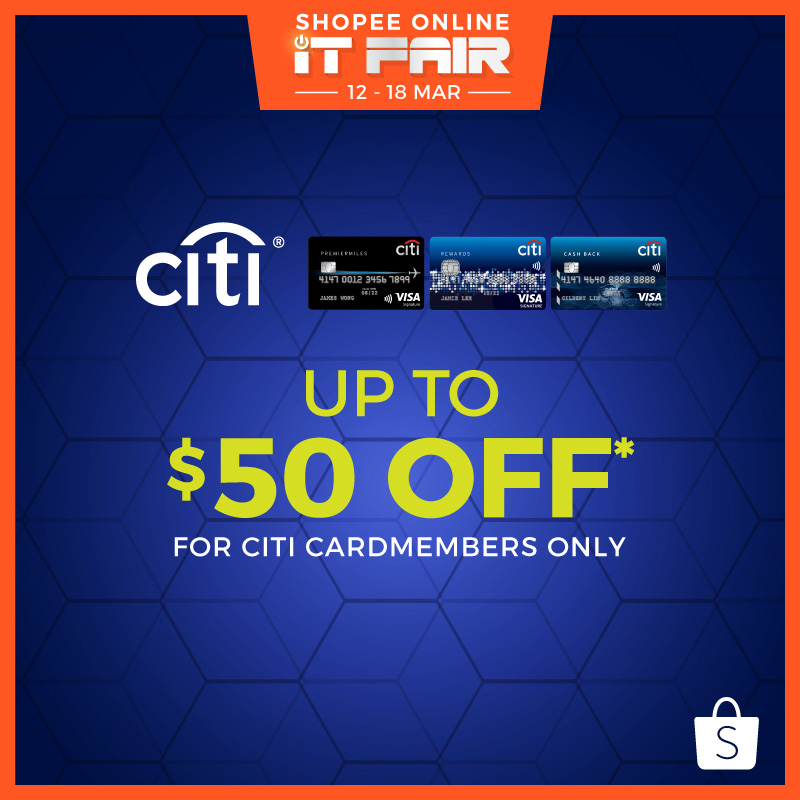 Citibank Promo For Online IT Fair