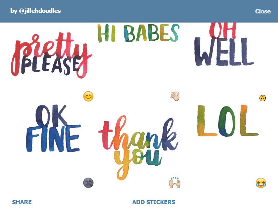 by@jillehdoodles telegram channels bots stickers singapore