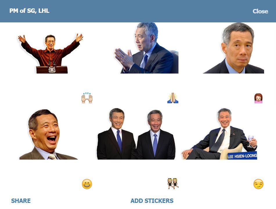 sg50lhl telegram channels bots stickers singapore