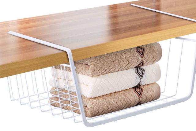 desk organiser shelf hanging basket