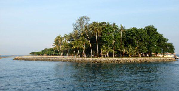 quiet places in singapore kusu island