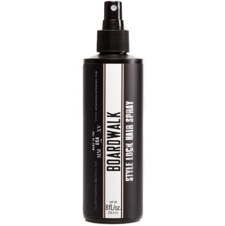 Hair spray for mens hairstyle