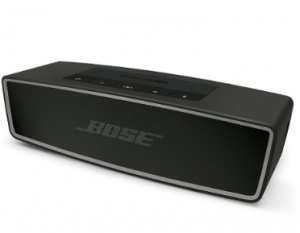 Black Rectangular Wireless Speaker