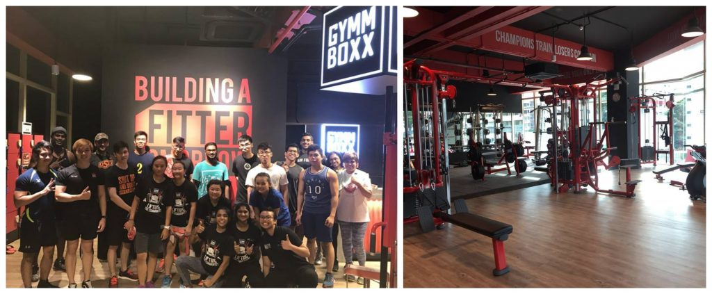 GYMMBOXX 24 Hour Gym Collage