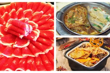 Sliced Meat Hotpot Lazy Mala