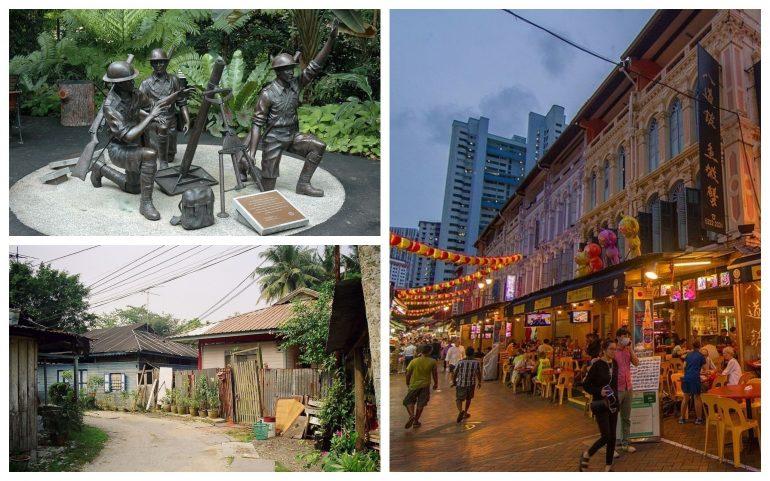 Singapore Bukit Chandu Chinatown Kampong Buangkok
