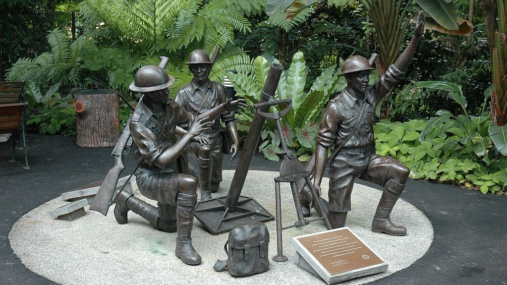 Bukit Chandu Singapore Soldier Memorial