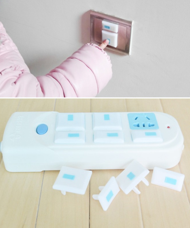kid-friendly power outlet cover