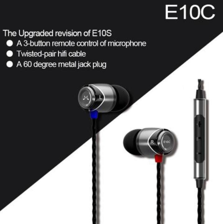 SoundMagic E10C In ear best headphones
