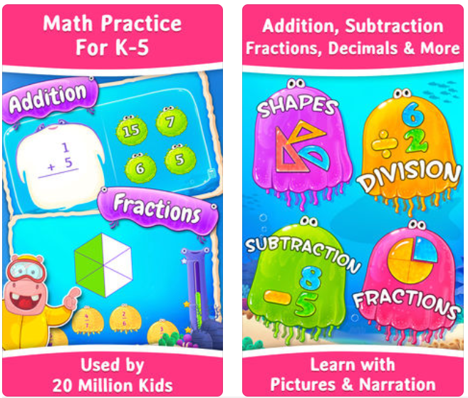 Splash Math App