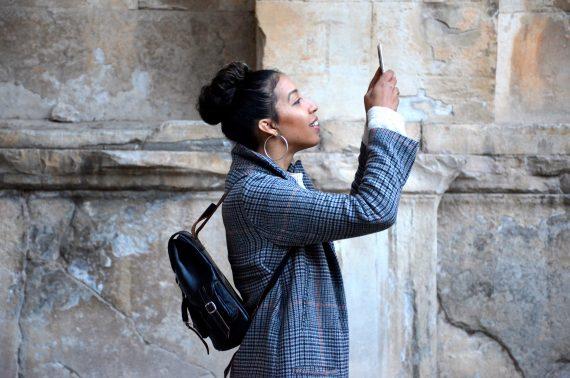 Tourist Photographer Smartphone Camera