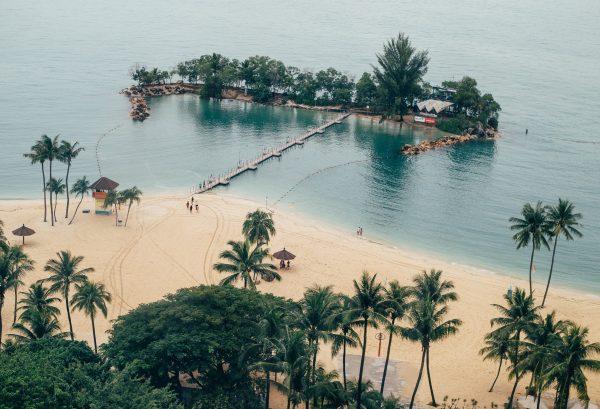 quiet places in singapore sentosa