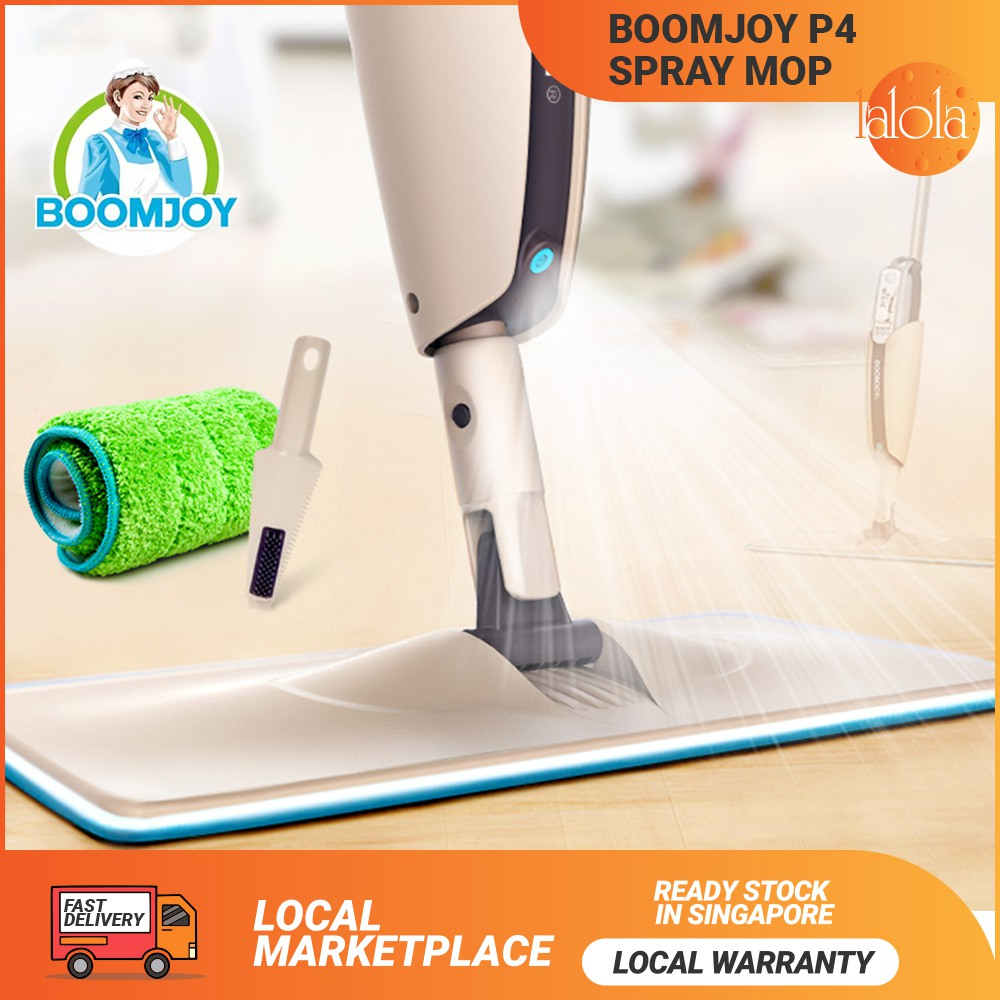 boomjoy soap spray mop bto flat