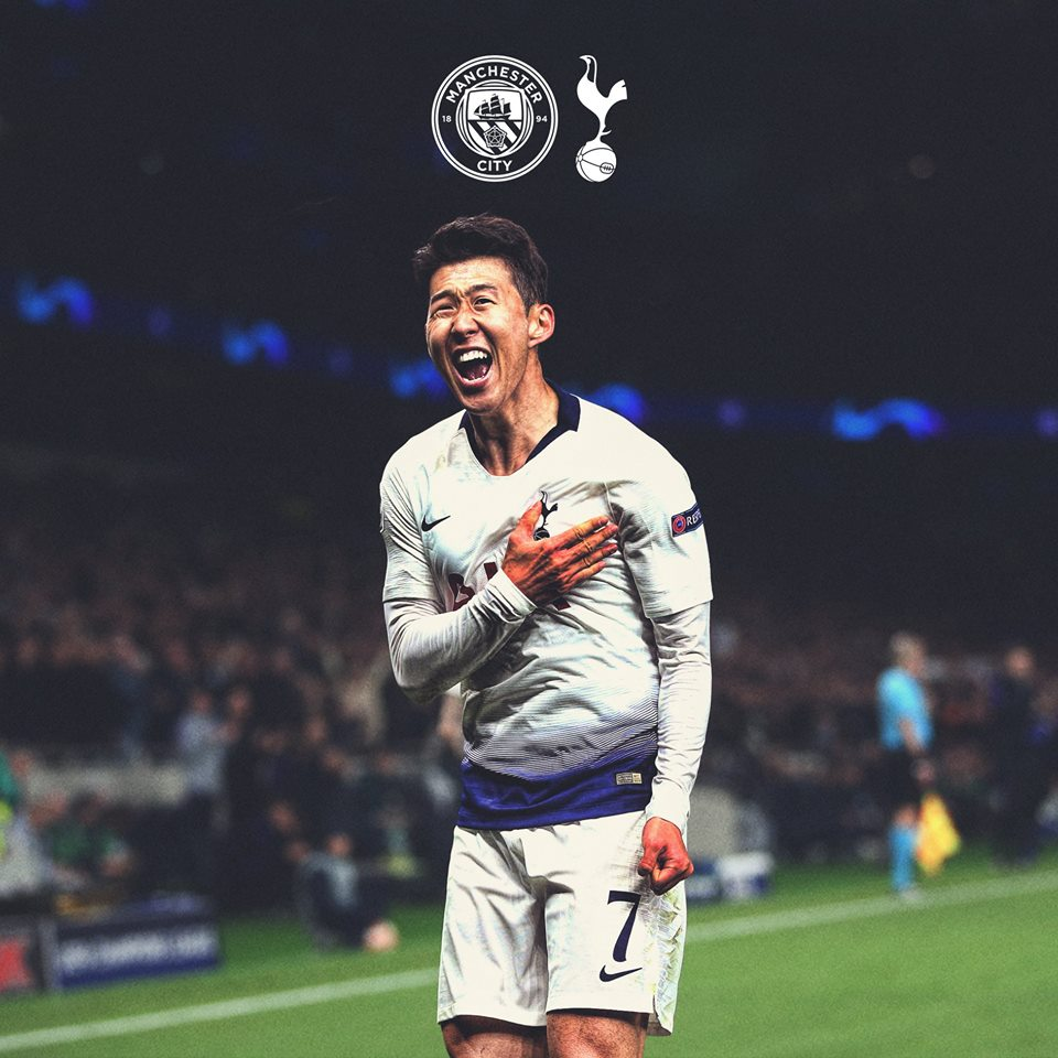 son heung min tottenham spurs champions league final