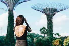 Instagram Worthy Places In Singapore Girl Gardens By The Bay