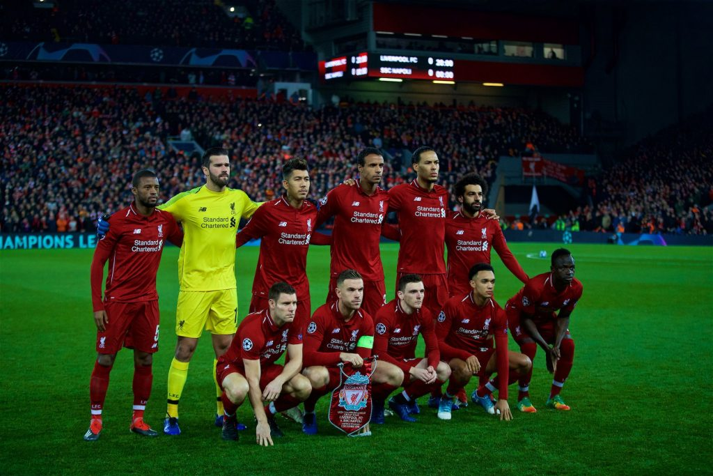 liverpool squad champions league final