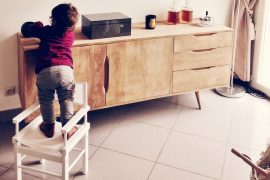 Child Climbing Furniture