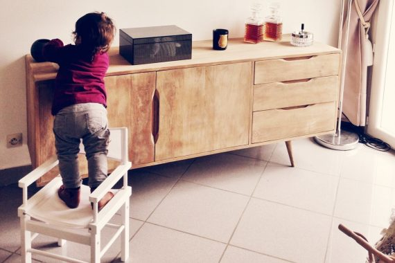 Child Climbing Furniture