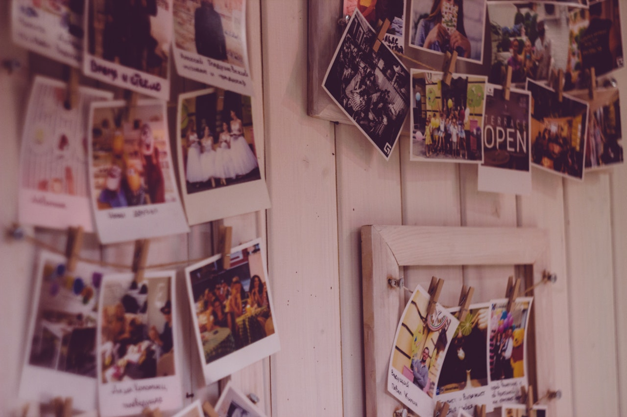 Polaroid Wall Photos Memories