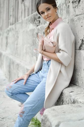 Pastel Suit Girl