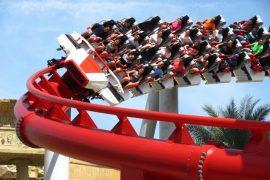 roller coaster universal studios singapore