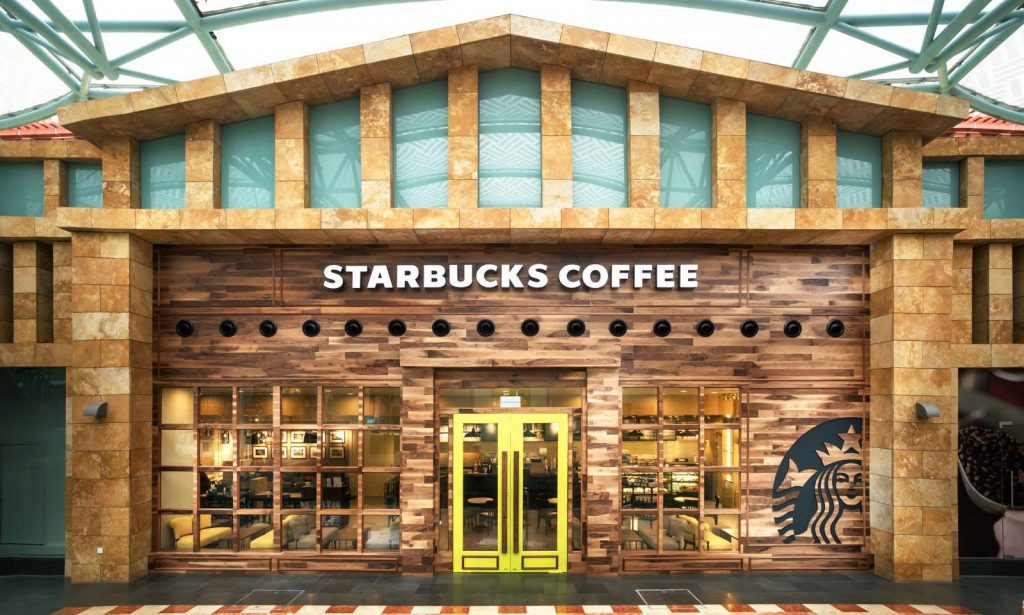 Starbucks Singapore Resorts World Sentosa Outlet
