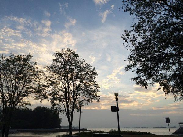 quiet places in singapore east coast park