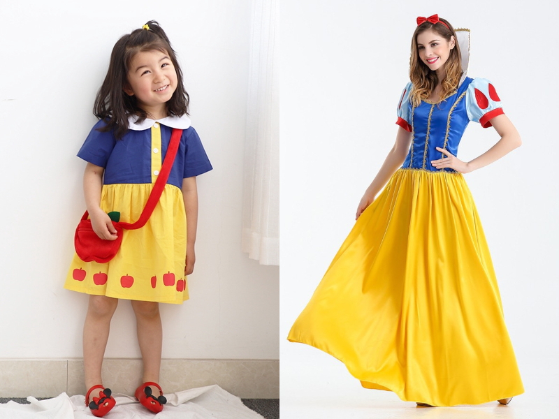 snow white mother daughter dress