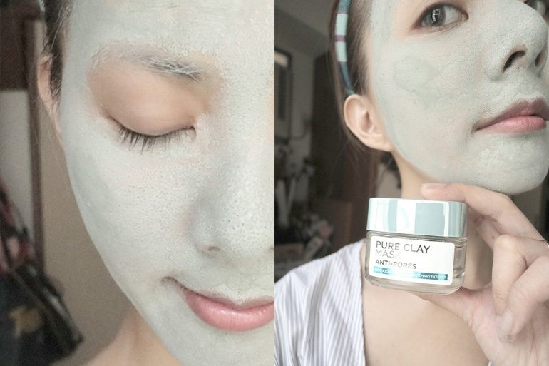With The L'Oreal Paris Pure Clay Mask, Say Goodbye To Pores!