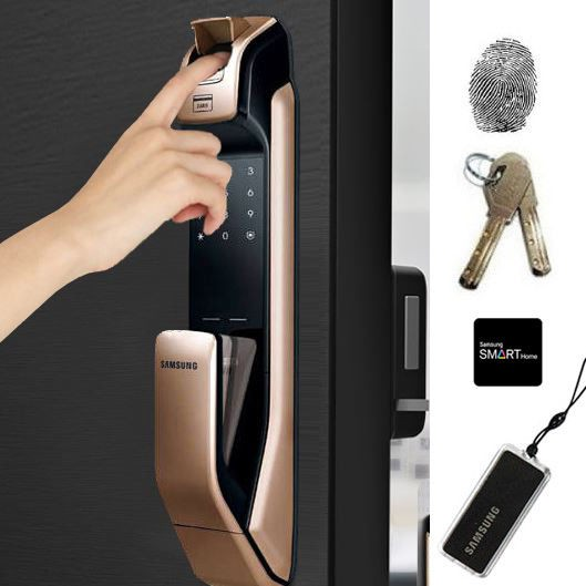 smart home devices digital lock samsung