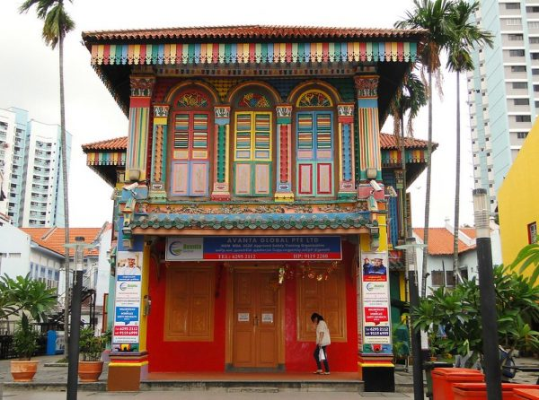 instagram worthy places singapore little india heritage former house of tan teng niah colourful